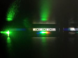 Green LED Spectrum